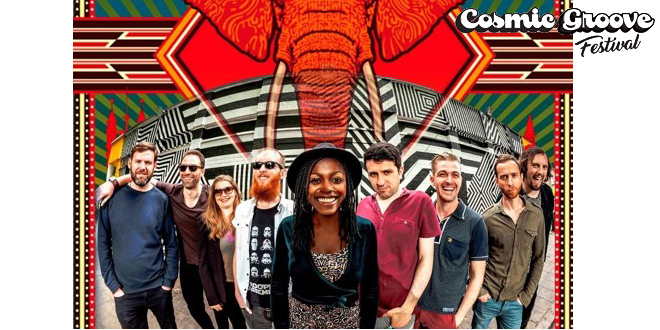 """LONDON AFRO BEAT COLLECTIVE (UK)</br><span style=""""font-size: large;""""><em></em>Cosmic Groove</span>"""