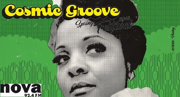 "Gizelle SMITH (UK)</br><span style=""font-size:medium;""><em>Cosmic Groove Festival / part 4 – Live + Djs</em></span>"